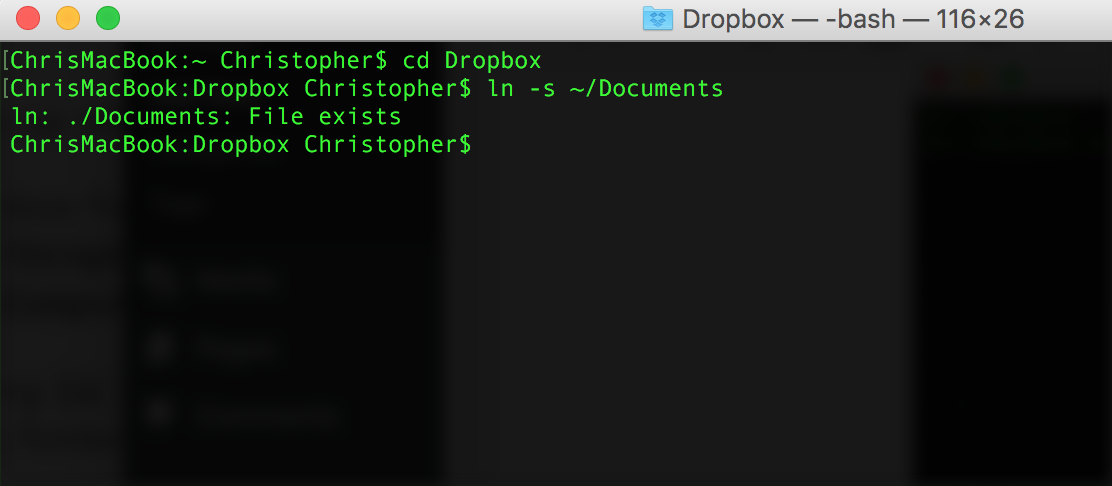 Link Documents to Dropbox